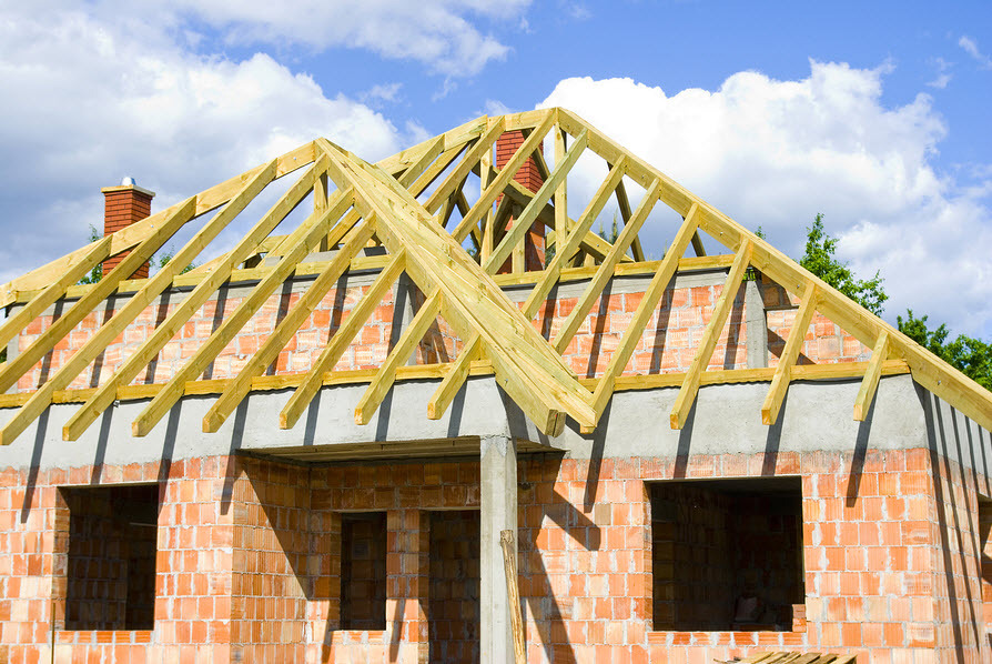 Building a new roof on a new build in worcester worcestershire